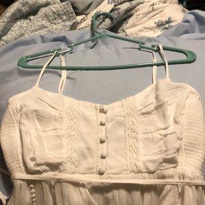 Motherhood Maternity Dresses - White Dress NWOT